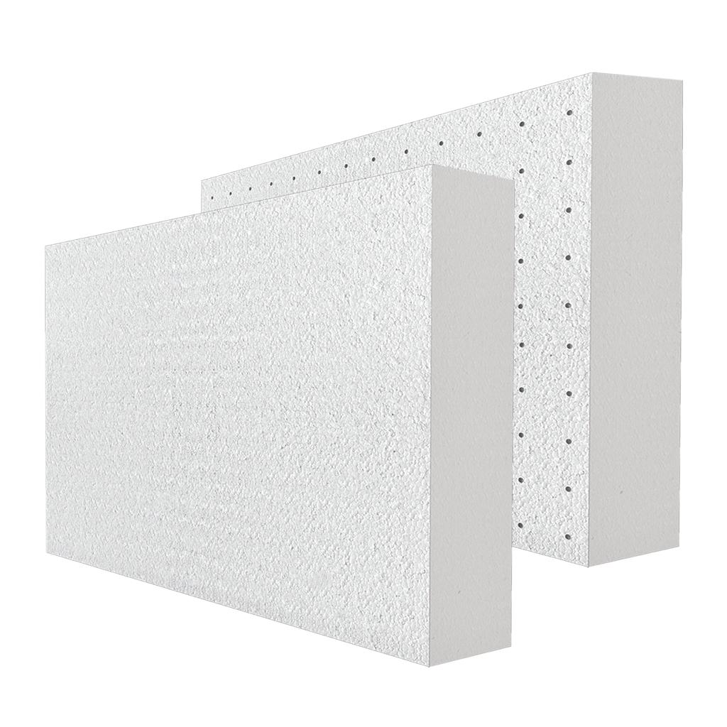 Biely polystyrén