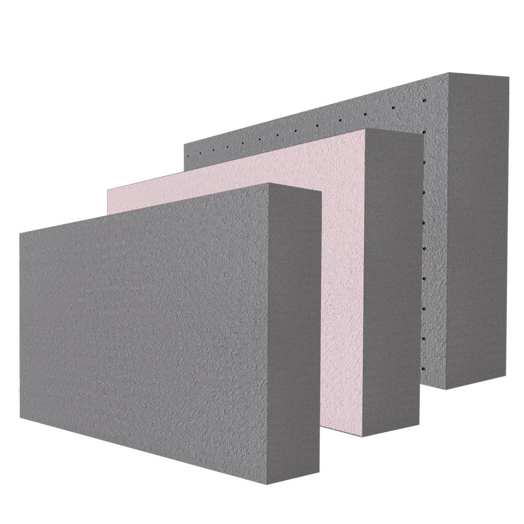 šedý polystyrén